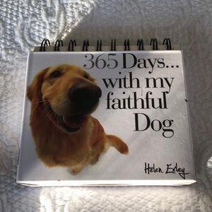 365 Days with my faithful Dog perpetual calendar
